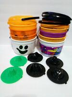 McDonalds Halloween Pail Buckets Mixed Lot Happy Meal (Vintage)