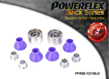 Saab 9-3 (02on) Powerflex Black Rear Upper Arm Outer Bushes PFR80-1211BLK