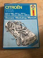 Raffreddato Ad Aria Benzina 0638 Haynes VW Transporter Manuale Officina 1979-1982