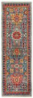 """Hand Knotted Sultanabad Runner Wool Blue Natural Dyes New Oriental Rug 2' x 6'1"""""""
