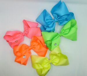 Back To The 80's/90's 6inch JoJo Style Bow