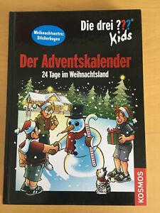 Die drei Fragezeichen ??? Kids - Der Adventskalender 24 Tage im Weihnachtsland