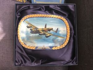 The Lancaster Wings Of Victory Bradford Exchange plate (Boxed & COA)