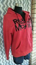 Authentic Reece Mastin Licenced Apparel Red Hoodie Size M Rock Star Memorabilia