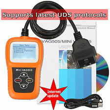 VAG Scanner Engine ABS Airbag Diagnostic Scan Tool VW Seat Skoda Audi COM Reset