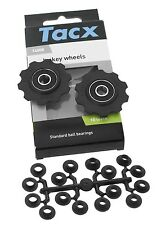 Tacx T4000 Jockey Wheels, Pulley Set for Shimano 7/8 Speed, 10 Tooth