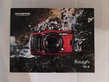 Olympus Tough TG-6 12.0MP Kompaktkamera - Schwarz