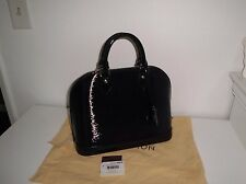 AUTH  LOUIS VUITTON ALMA PM EPI NOIR ELECTRIC $2350.00 + TAX BRAND NEW WITH TAGS