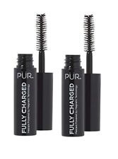 2X PUR Fully Charged Mascara Powered by Magnetic Technology 2x 4ml 0.14oz New