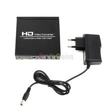 Top Grade CVBS AV + HDMI to HDMI HDCP Decode 720P / 1080P HD Video Converter