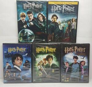 PELICULA DVD PACK HARRY POTTER PARTES 1 a 5 PRECINTADAS