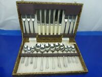 Unicraft Firth Stainless Steel 24 Piece 6 Place Settings Dessert Canteen Display