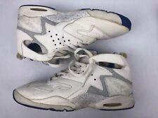 free shipping 6c2ff 2304f Vintage Nike Air Challenge Huarache 1992 Andre Aggis Tech White Blue Mens  12.5