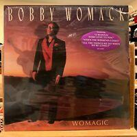 Bobby Womack Womagic Vinyl LP SEALED MCA 5899 Hype Sticker