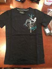 NWT Boys Childs Medium Hurley Shirt Black And Blue (#3)