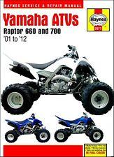 Yamaha Raptor 660, 700 Repair Manual 2001-2012
