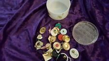 Lot Of Of 16 Earrings 8 Pairs Sets Costume Jewelry Formal Vintage + parts pieces