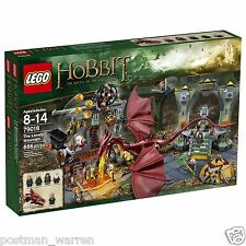 LEGO - The Hobbit - The Lonely Mountain - 79018 - LOTR Smaug - New & Sealed