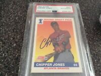 Chipper Jones Rookie Auto