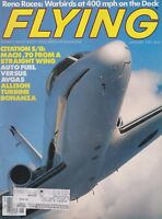 Flying Magazine (Jan 1985) (Reno, Citation S/II, Auto Fuel, Allison Bonanza)
