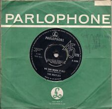 "The Beatles We Can Work It Out / Day Tripper 2nd issue: ""GRAMOPHONE Co"" UK 45 7"""