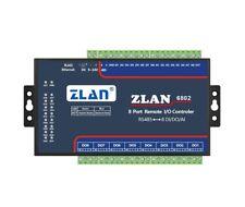 ZLAN6802 12/24V RS485 Ethernet Wifi 8 Channel DI/AI/DO Modbus I/O Module RTU P2P