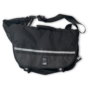 Chrome Buran Night Messenger Bag Black Reflective Waterproof Commute Cycling Bag