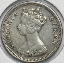 Hong Kong 1892 10 Cents 294001 combine shipping