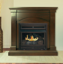 Propane Vent Free Fireplace Gas Stove Natural Gas Stoves Black Fireplaces Heater
