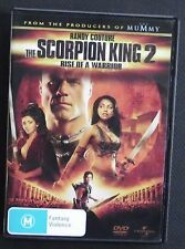THE SCORPION KING 2  Rise of a Warrior (DVD, 2008)  (Randy Couture         (170)