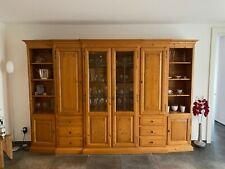 Schrankwand Wohnzimmer - Landhausstil