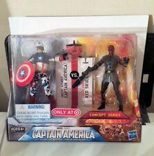 Marvel Arctic Assault Captain America vs Red Skull 2pk Avengers Target C9 2011