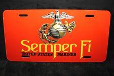 Semper Fidelis Metall Aluminium Kennzeichen Marine Corps Semper Fi Usmc
