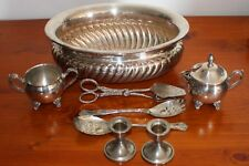 A lovely Vintage Silver Plate set - 8 mixed piece