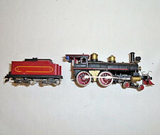 HO Scale AHM Steam Locomotive 4-4-0 And Tender Does Not Run 61B