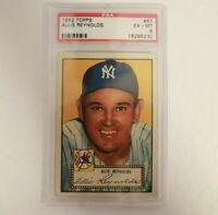 1952 Topps #67 Allie Reynolds PSA 6 New York Yankees