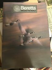 1995 Beretta Catalog plus price guide for Shotguns and Pistols and knife guide.