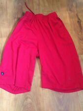 NIKE AIR JORDAN Boys Basketball Shorts Red Large 12-13 Years