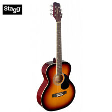 NEW Stagg SA20A Full Size Auditorium Style Acoustic Guitar - Sunburst