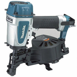 "Makita AN453-R 1-3/4 "" 15° Roofing Coil Nailer"