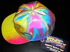 Official BTTF MARTY McFLY COLOR CHANGE CAP BACK TO THE FUTURE Diamond Hat rave