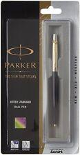Original Parker Jotter Standard GT Ball Pen (Black) Brand new Now with Gold Trim