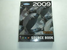 2009 Ford Dealer Truck Product Facts Source Book F150 F250 F350 F450 Ranger Van