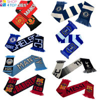 OFFICIAL FOOTBALL SOCCER CLUB TEAM FC FAN SCARF SCARVES KNITTED SUPPORTERS NEW