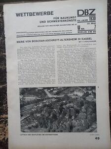 1930  Kassel Boschan Aschrott Altersheim