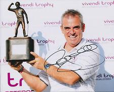 Paul McGINLEY SIGNED AUTOGRAPH 10x8 Photo AFTAL COA Seve Trophy