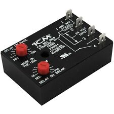 ICM Controls ICM254 ICM254B Dual ON/OFF Fan Control Delay Timer Relay 18-30 VAC