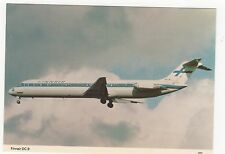 Finnair Douglas DC-9 Aviation Postcard, A746