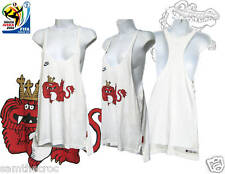 Nike Inglaterra Mujer Fútbol Chaleco Camiseta Top Jarvis COLAB Blanco S