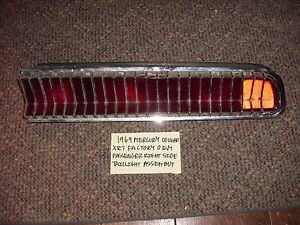 1969 MERCURY COUGAR XR7 FOMOCO FACTORY OEM PASSENGER TAILLIGHT FREE SHIPPING